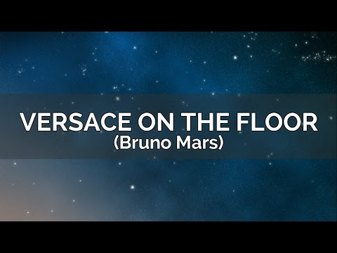 Bruno Mars - Versace On The Floor (Karaoke Version/Instrumental)