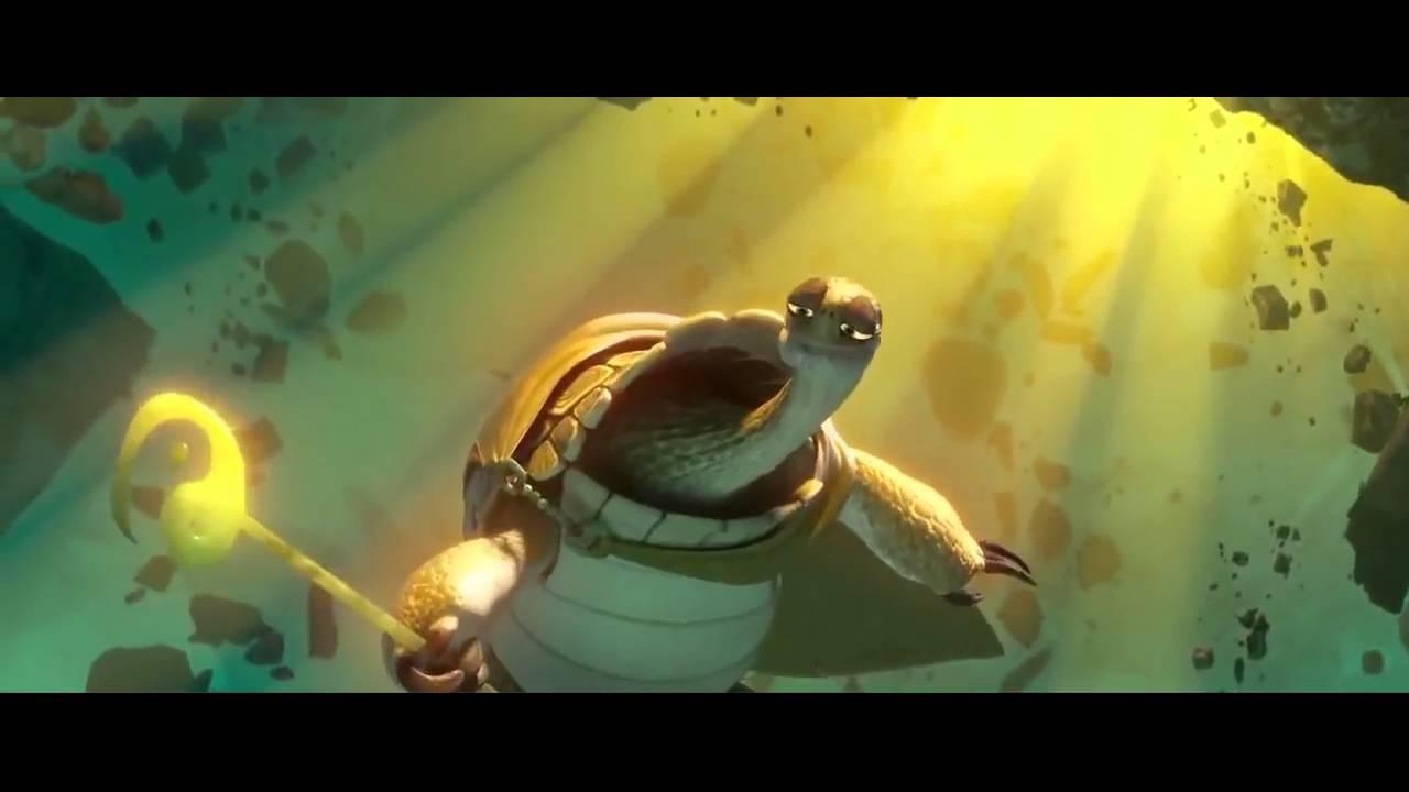 Kung Fu Panda 3 2016 Master Oogway Vs Kai Scene - YouTube