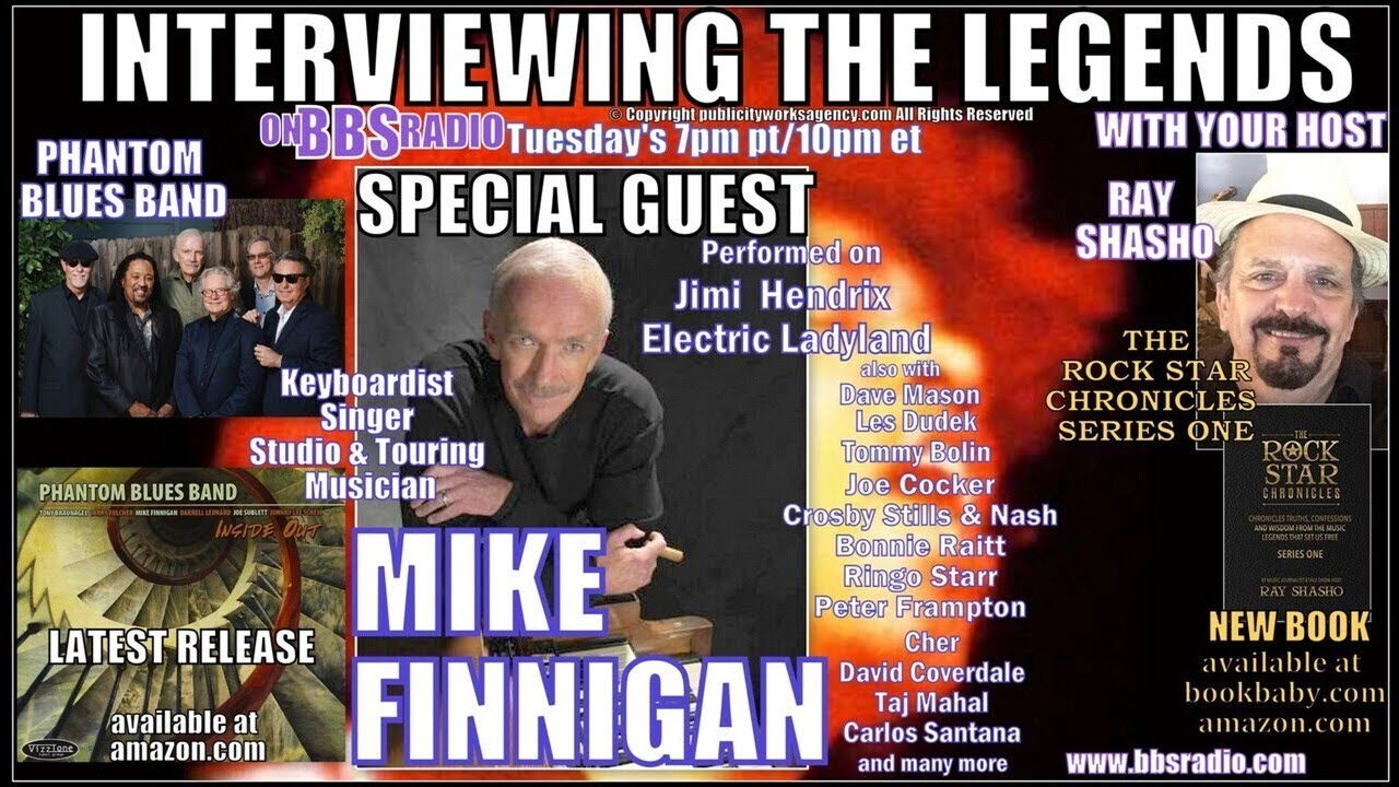Mike Finnigan Played on Electric Ladyland w/ Hendrix
