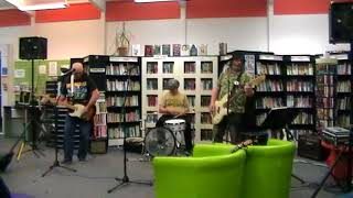 Its all over now by Scarbelly Blues Band at Gt Bridge Library Open Mic 17.5.18