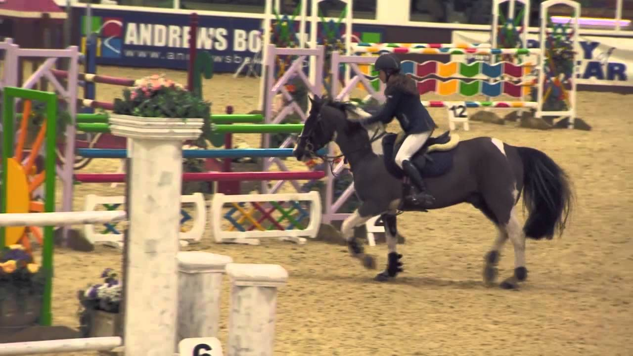 showjumping pony of the year show grand prix round 2 march 2013 youtube. Black Bedroom Furniture Sets. Home Design Ideas