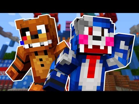 Five Nights At Candy's 2 - Night 3 (Minecraft Roleplay!)