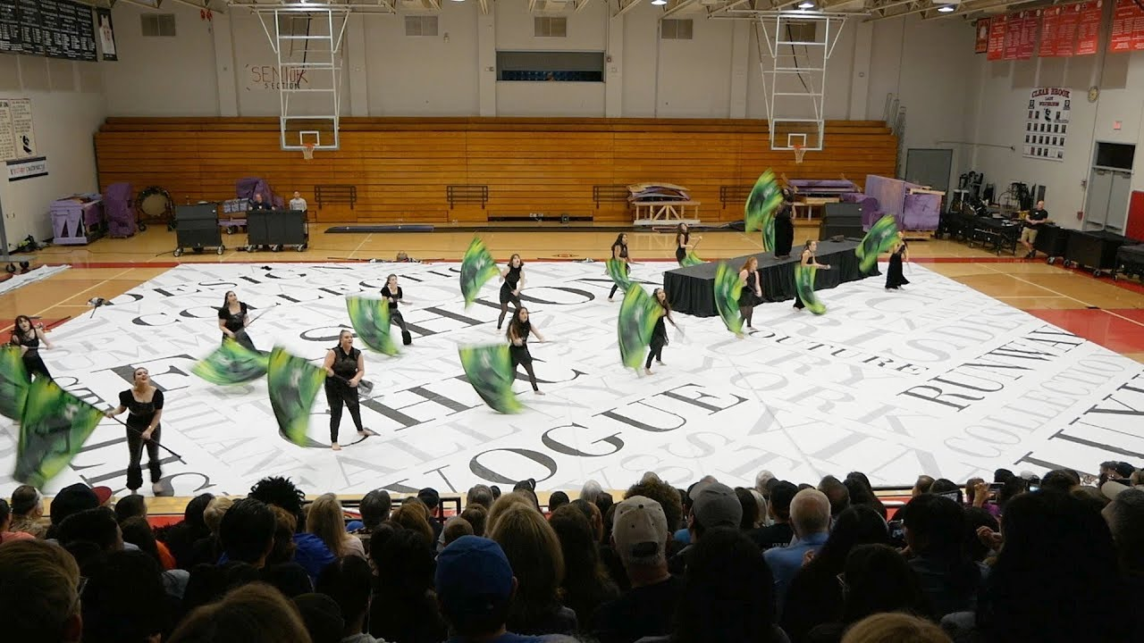 Clear Brook Varsity Winter Guard Vogue Youtube