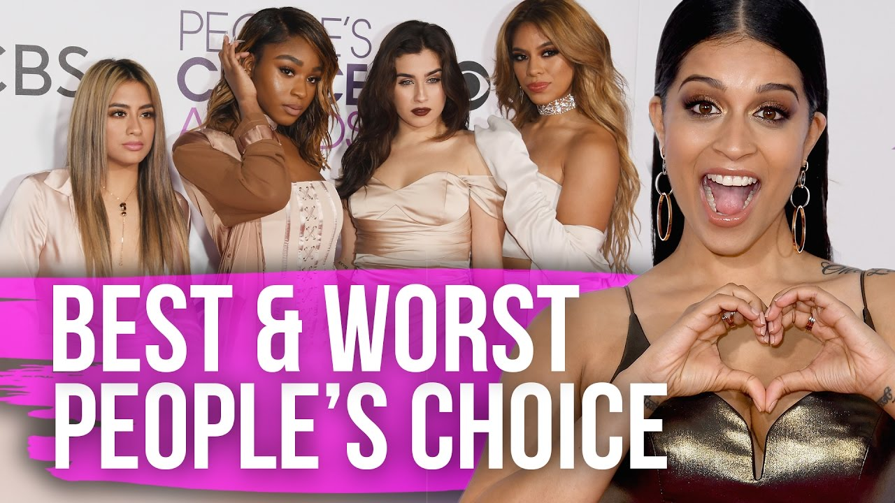 Best & Worst Dressed People's Choice Awards 2017 (Dirty Laundry)