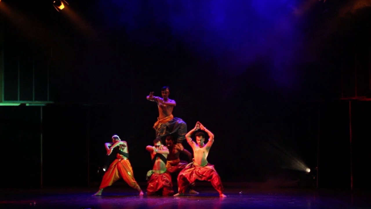 Ananta Krishna an unique dance collaboration production of Mayurbhanj Chhau and Bharatanatyam dance.