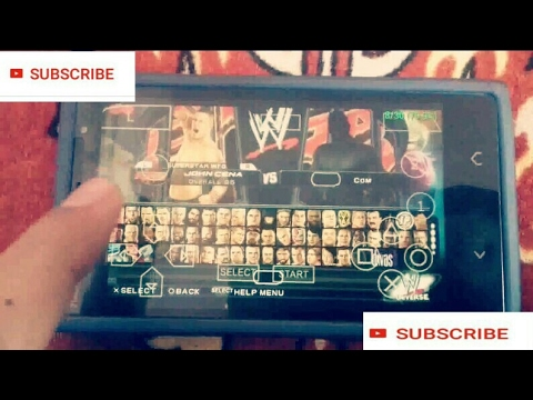 Wwe 2011|Unlock all player with Best setting ppsspp smack vs raw 2011 setting technical news update