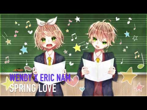 Nightcore - Spring Love (Wendy X Eric Nam) [SM Station]