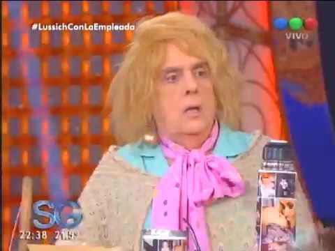 Agustina Kämpfer estará en el sketch La empleada pública de Susana Giménez