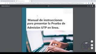 Buenas prácticas en las Pruebas de Admisión UTP.