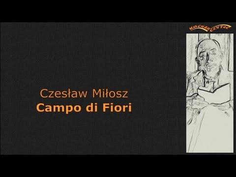 Campo Di Fiori Miłosz Cz Kocham Czytać
