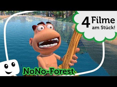NoNo Forest – 4 Folgen Special – lustige Cartoon ganze filme animation für kinder