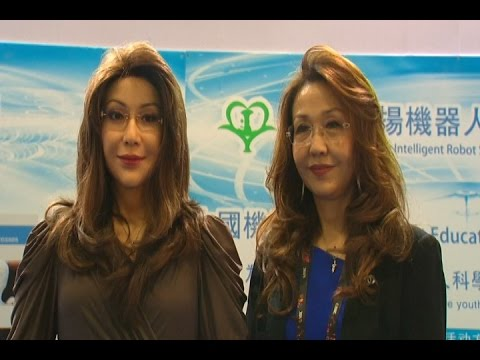 Humanoid robot unveiled at internet conference in Beijing
