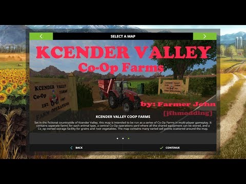 FS17 KCender Valley Co-Op Farms First Look