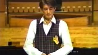 MAX EMANUEL CENCIC boy soprano  -  Jauchzet Gott in allen Landen