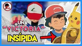 Pokémon: Ash GANA la LIGA...pero con una VICTORIA INSÍPIDA