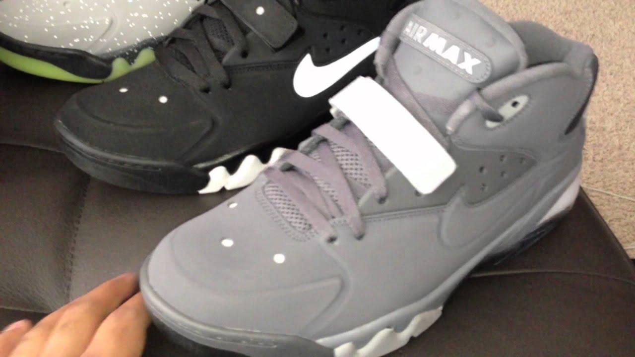 meet d8926 a937a Nike Air Force Max 2013 (Dark Grey Wolf Grey)