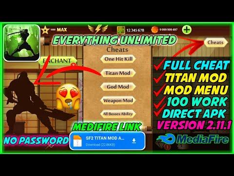Shadow Fight 2 Titan Apk Unlimited Money APK 2.11.1 Menu  APK Latest Version