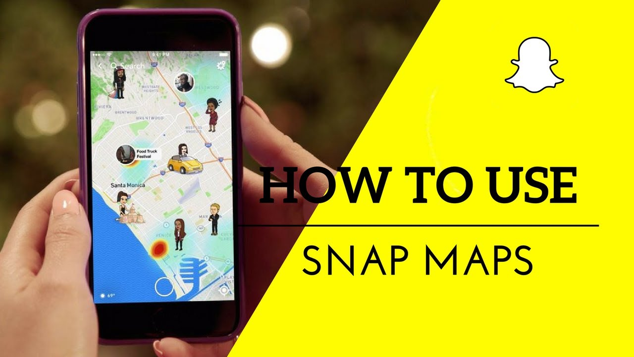 how to get snapchat map