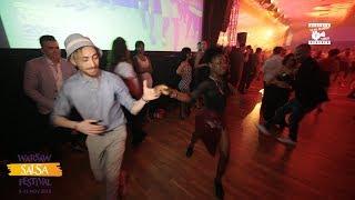 Federico & Sasha - Salsa Social Dancing @ WARSAW SALSA FESTIVAL 2018