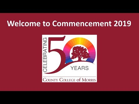 2019 County College of Morris Commencement