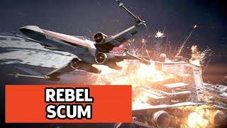 Star Wars: Battlefront 2 Star Fighter Assault - Empire Scimitar Gameplay