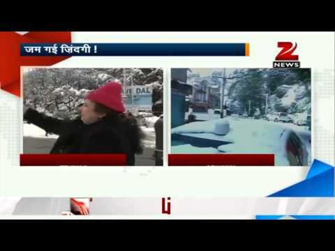 Kashmir remains cut off due to heavy snowfall