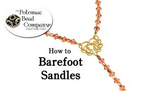Repeat youtube video How To Make Barefoot Sandles
