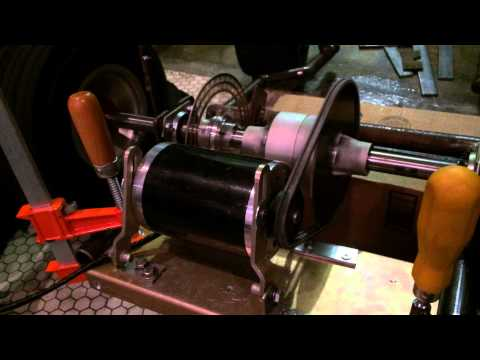 Power Wheels Mod 36 Volt Motor and Axle Test