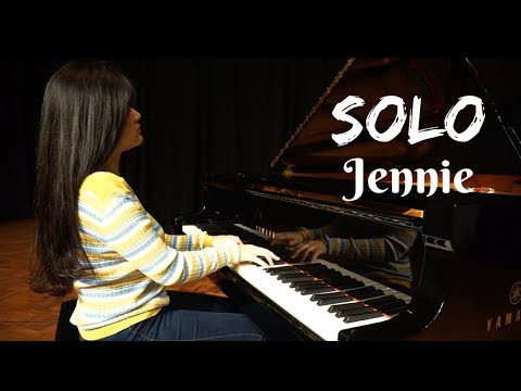 (Jennie) SOLO - Piano Cover | Josephine Alexandra