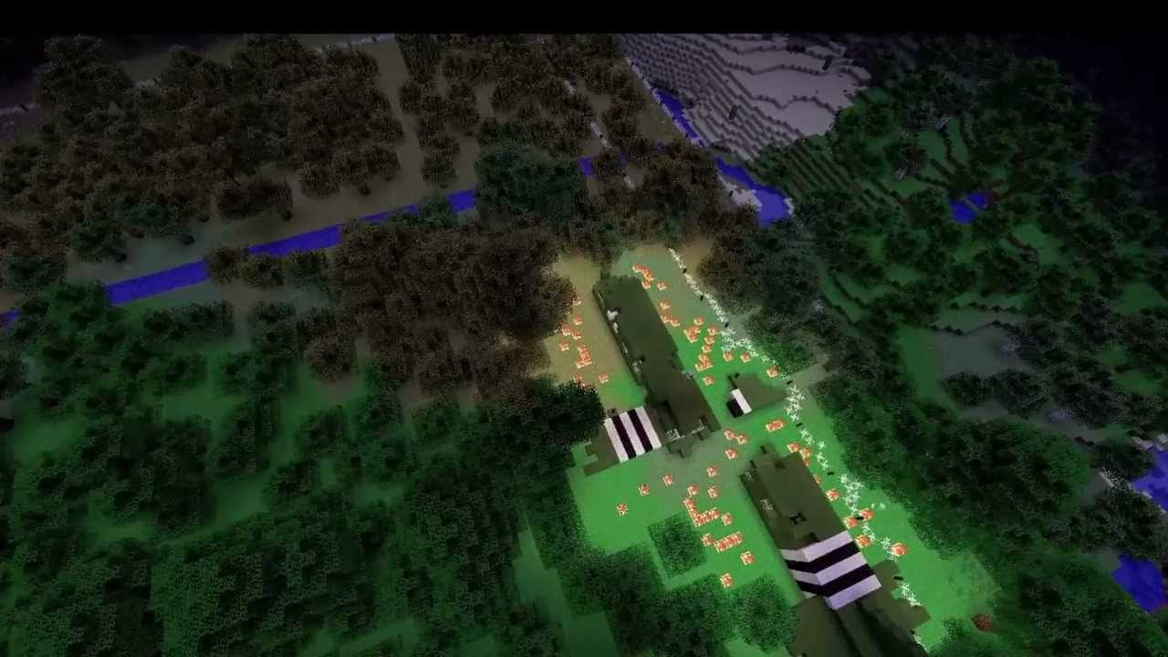 DDay Battlefield Map 17 and 18 Minecraft Project