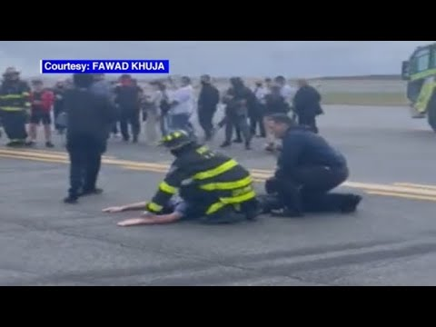 Flight lands safely at LaGuardia following security incident involving passenger