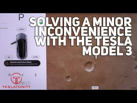 Solving A Minor Inconvenience With The Tesla Model 3