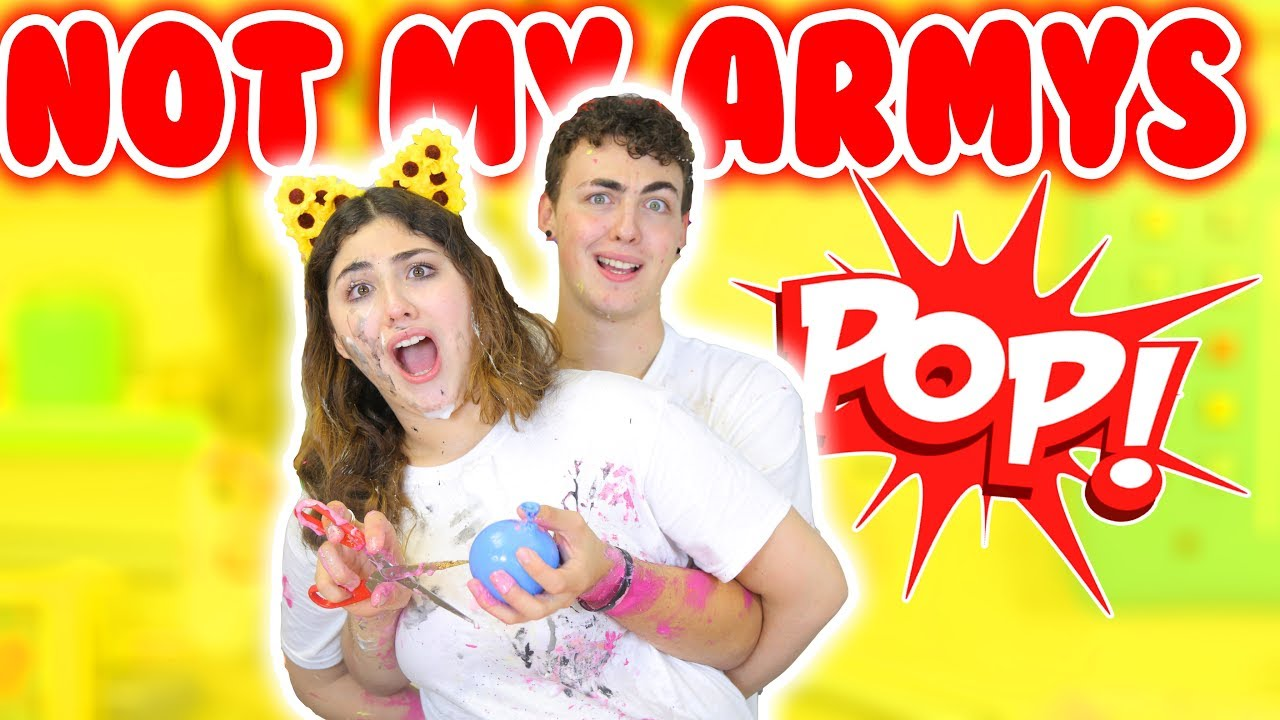 NOT MY ARMS BALLOON SLIME CHALLENGE | Making Instagram balloon slime
