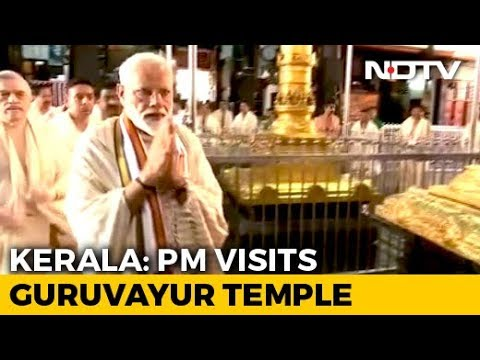PM Modi In Kerala Ahead Of First Overseas Trip Of His Second Term