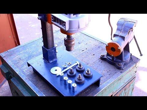 видео: Самодельная стойка для дрели своими руками.Часть5.homemade drill press