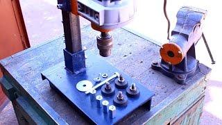 Самодельная стойка для дрели своими руками.Часть5.Homemade drill press