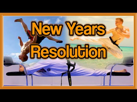 Martial Arts New Years Resolution | Ginger Ninja Trickster