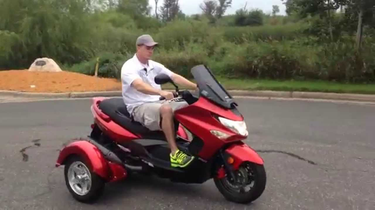 2011 Kymco Xciting 500 Test Ride