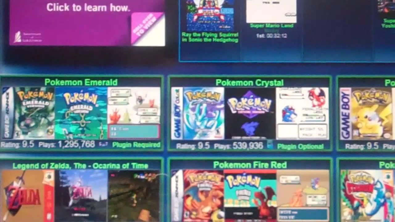 vizzed retro game room pokemon
