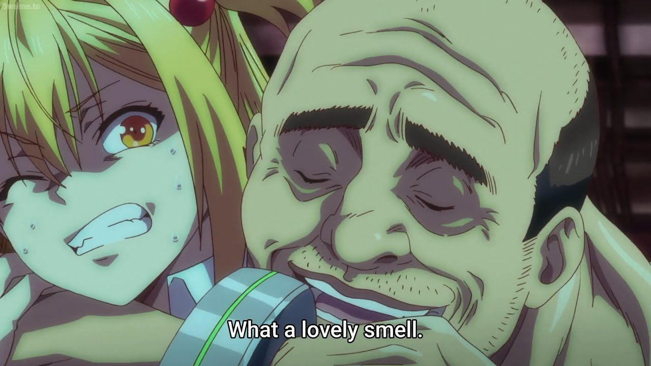 When you meet a man who likes your smell