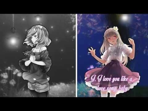 Nightcore- Set Fire To The Love Song {Switching Vocals}