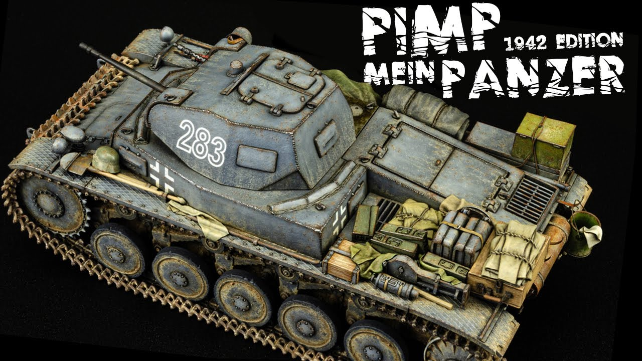 Let's Paint Some Stowage! And Other Finishing Touches... Panzer II Restoration - Part 3 (Final)
