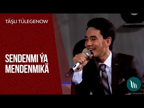 Täşli Tülegenow - Sendenmi ýa Mendenmikä | 2019