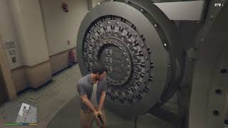 How to break into bank vault (GTA5 Story mode)