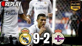 Real Madrid vs Deportivo La Coruna 9-2   21/01/2018 All Goals RÉSUMÉ (2 Last Matches) HD