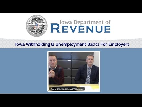 Iowa Withholding & Unemployment Basics For Employers