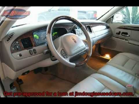 2001 Lincoln Town Car Used Car Gainesville,Ocala, Jacksonville, Tampa, Orlando, FL