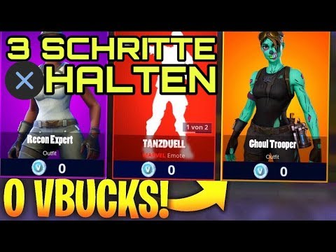 neu 0 vbucks item shop glitch alle skins kostenlos bekommen free - free fortnite skins no human verification nintendo switch