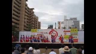 幻惑輝星 うらじゃ2013 下石井公園 輝星あすか 検索動画 19