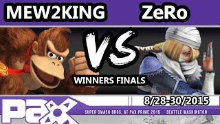 S@P - TSM | ZeRo (Sheik) Vs. CoG MVG | Mew2King (Donkey Kong, Mario) SSB4 WF - Smash Wii U - Smash 4